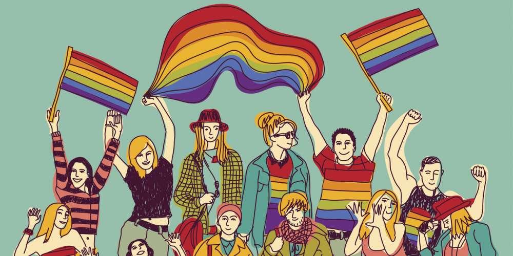 當我們自由談著愛情 享受社群支持時 請記得全世界還有很多LGBT朋友依舊受到迫害
