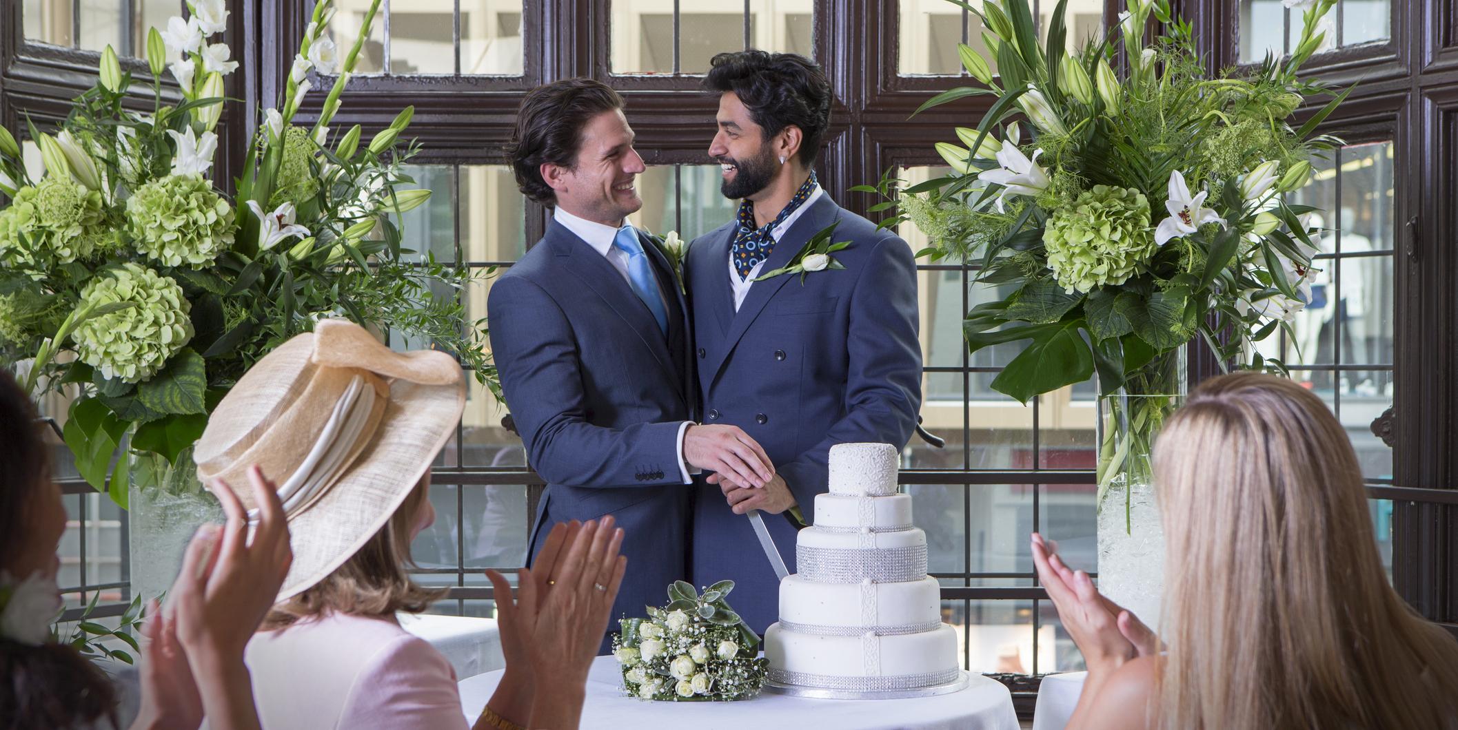 gay wedding cake milo book