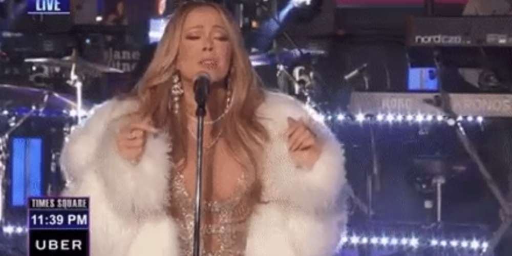 Watch Mariah Carey's Epic Attempt at Redemption on 'New Year's Rockin' Eve 2018′ (Video)