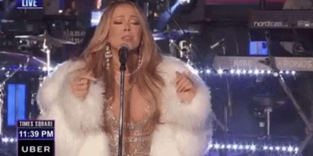 Mira el Épico Intento de Redención de Mariah Carey en el Show 'New Year's Rockin' Eve 2018′ (Video)