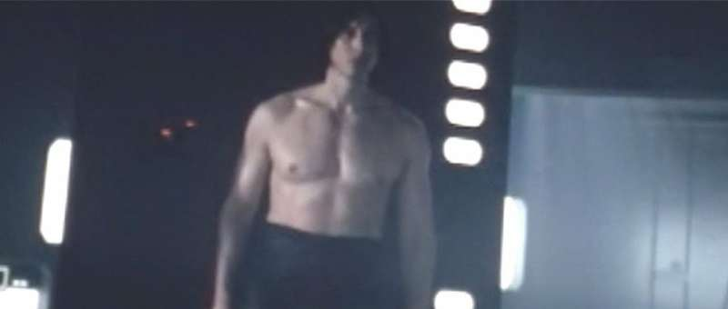 Kylo Ren shirtless, kylo ren challenge 01