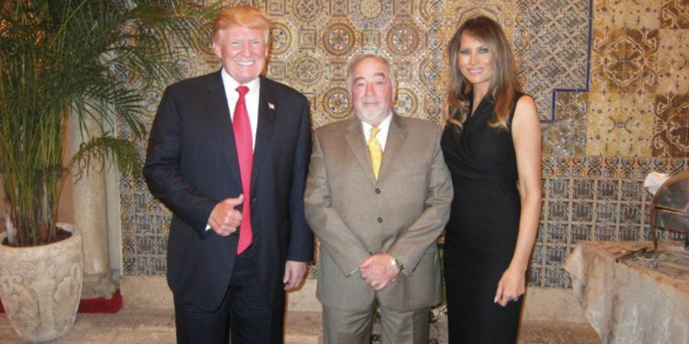 Trump Spent Some Quality Time at Mar-a-Lago With Notorious Homophobe Michael Savage
