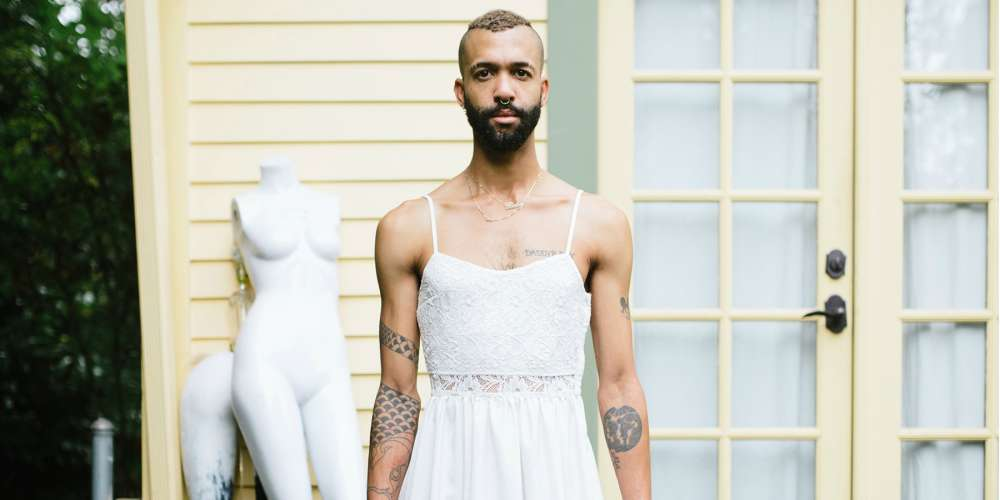 This New Photo Book Challenges Gender Norms With Nude Male Models and Guys in Dresses