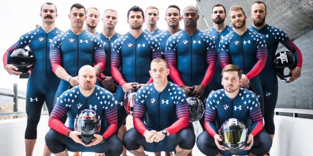 Here Are Sexy, Sweat-Inducing Instagram Pics of Each Member of the U.S. Men's Bobsled Team