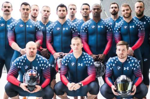 U.S. Men's Bobsled team 02