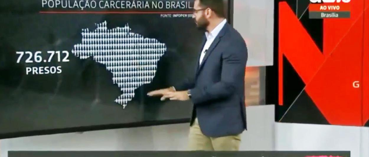 Marcelo Cosme não estava com a barraca armada, infelizmente (NSFW)