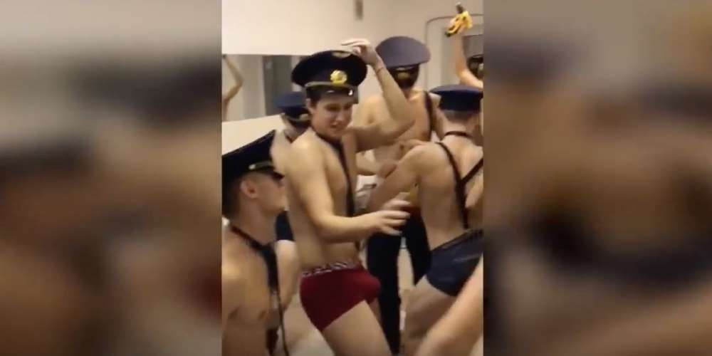 These Young Russian Cadets Are Under Investigation for Making a Low-Rent Twerking Video