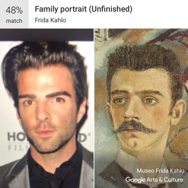 google arts and culture zachary quinto