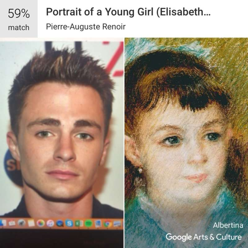 google arts and culture colton haynes