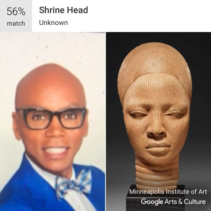 google arts and culture rupaul