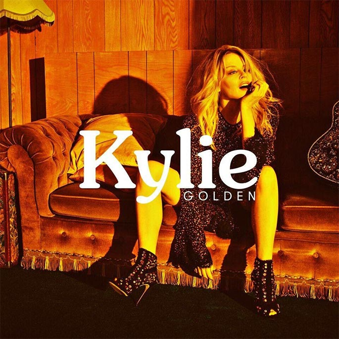 new kylie album cover