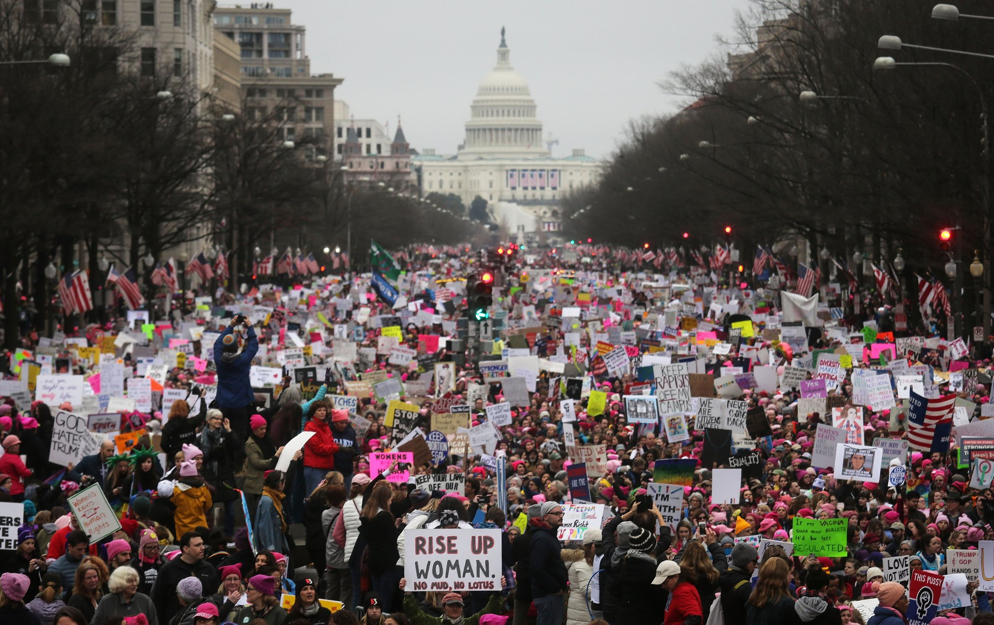 women's march 2018 DC