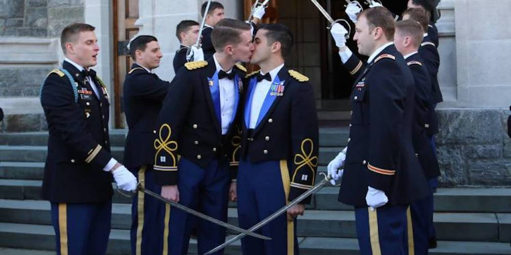 These Soldiers Just Became the First Same-Sex Couple to Marry at West Point Military Academy