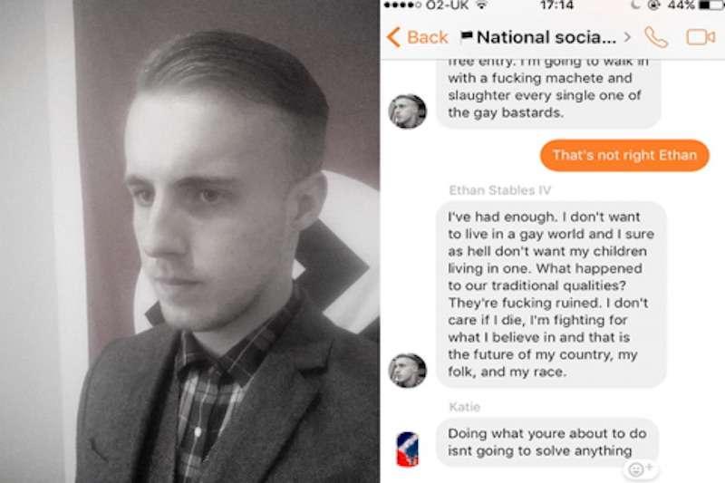 Neo-Nazi gay bar attack 01