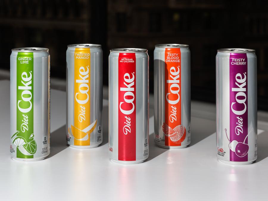 diet coke makeover flavors