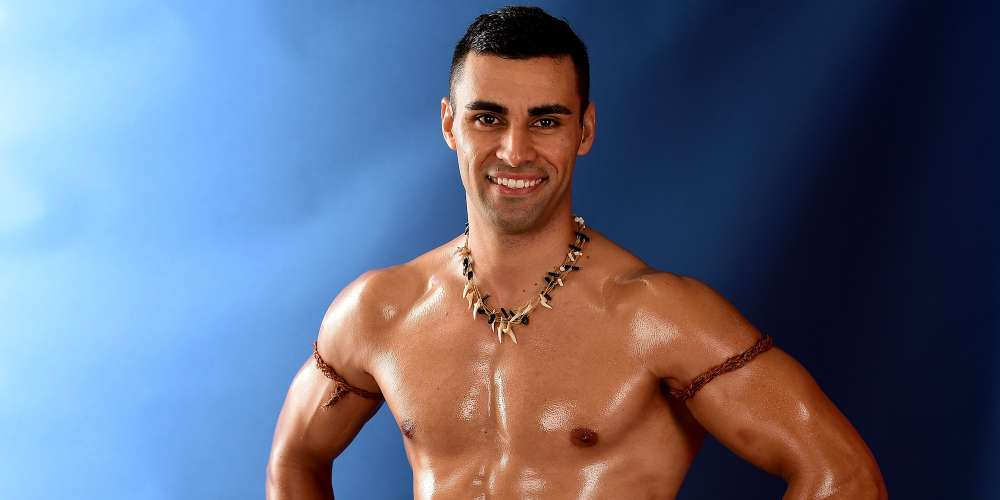 Everyone's Favorite Oiled-Up Tongan Qualified for This Year's Winter Olympics