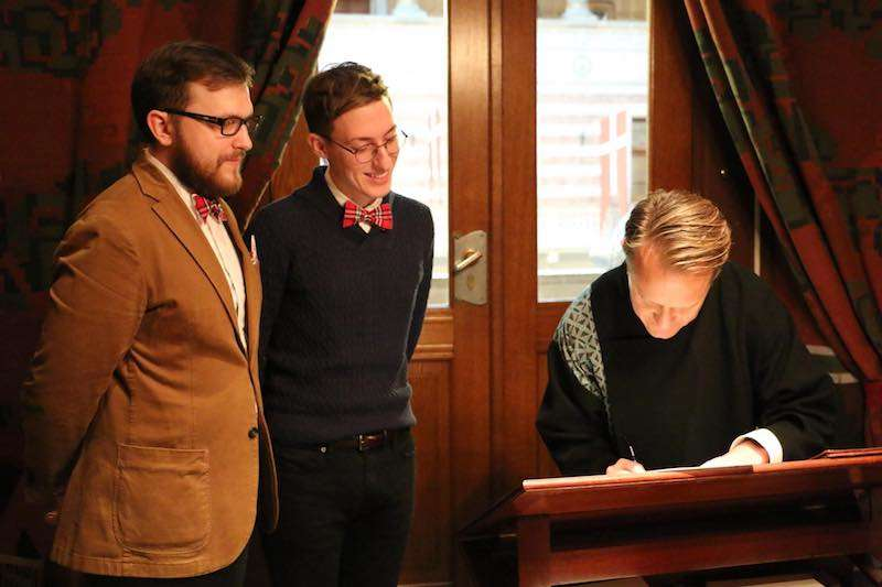 Russia gay marriage 02, Pavel Stotsko, Eugene Wojciechowski