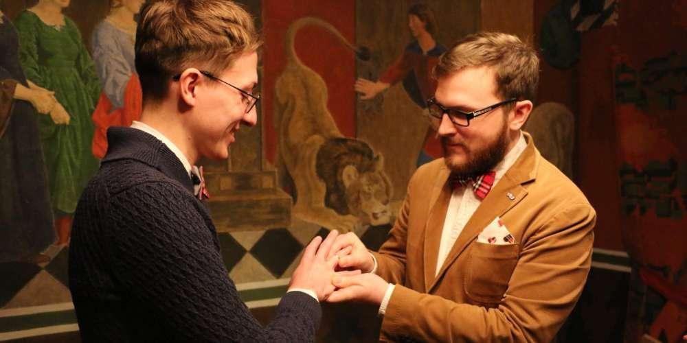 Russia gay marriage 01, Pavel Stotsko, Eugene Wojciechowski