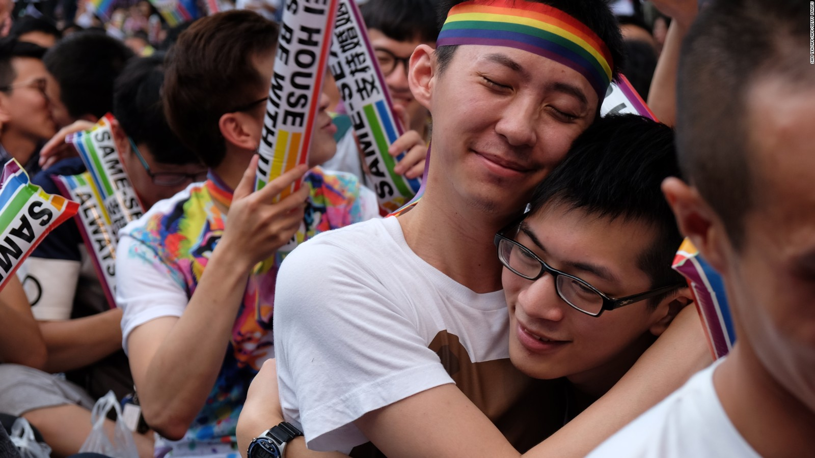 homosexuality in china taiwan