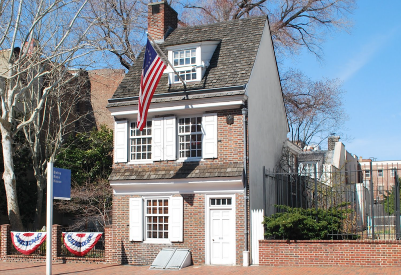 gay philadelphia guide betsy ross house