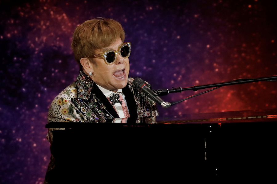 grammys performance elton