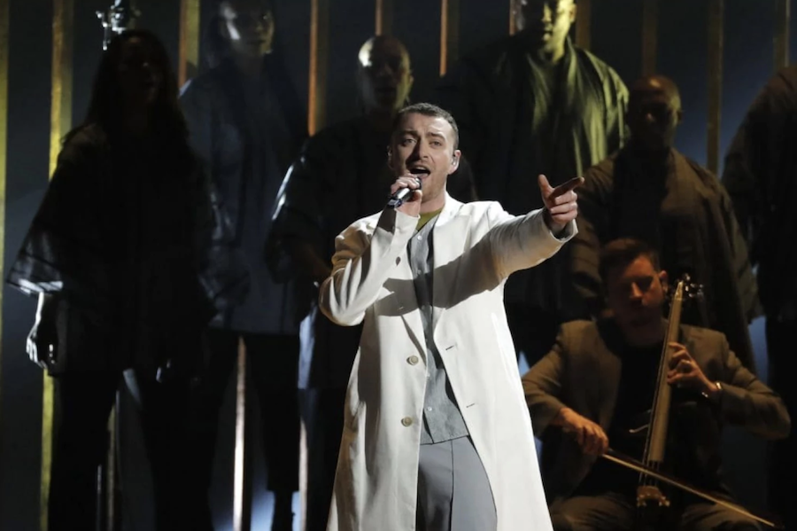 grammys performance sam smith