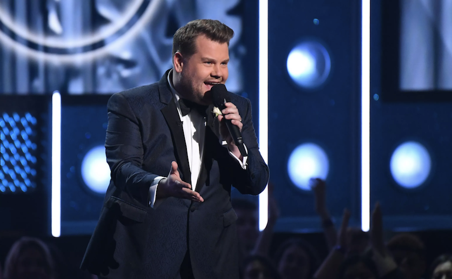 grammys performance james corden