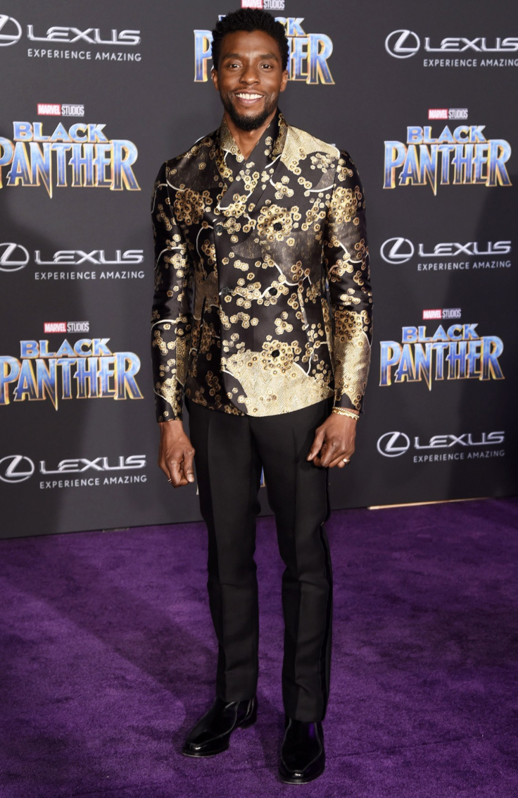black panther premiere red carpet chadwick