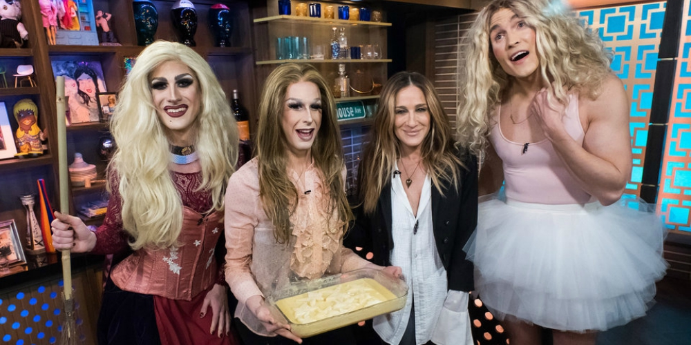 Sarah Jessica Parker Finally Met Carrie Dragshaw, the Instagram Star Recreating Her Best 'SATC' Looks