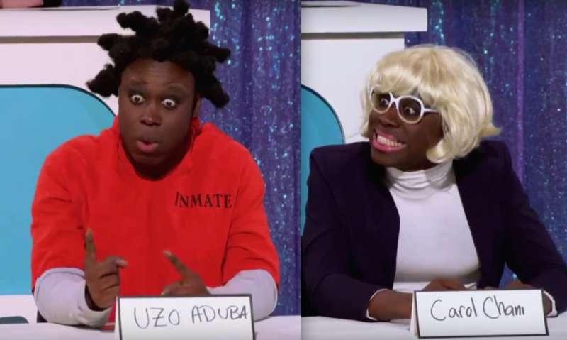 best snatch game bob the drag queen uzo aduba