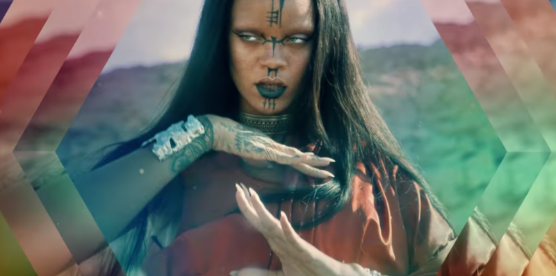 rihanna illuminati witch