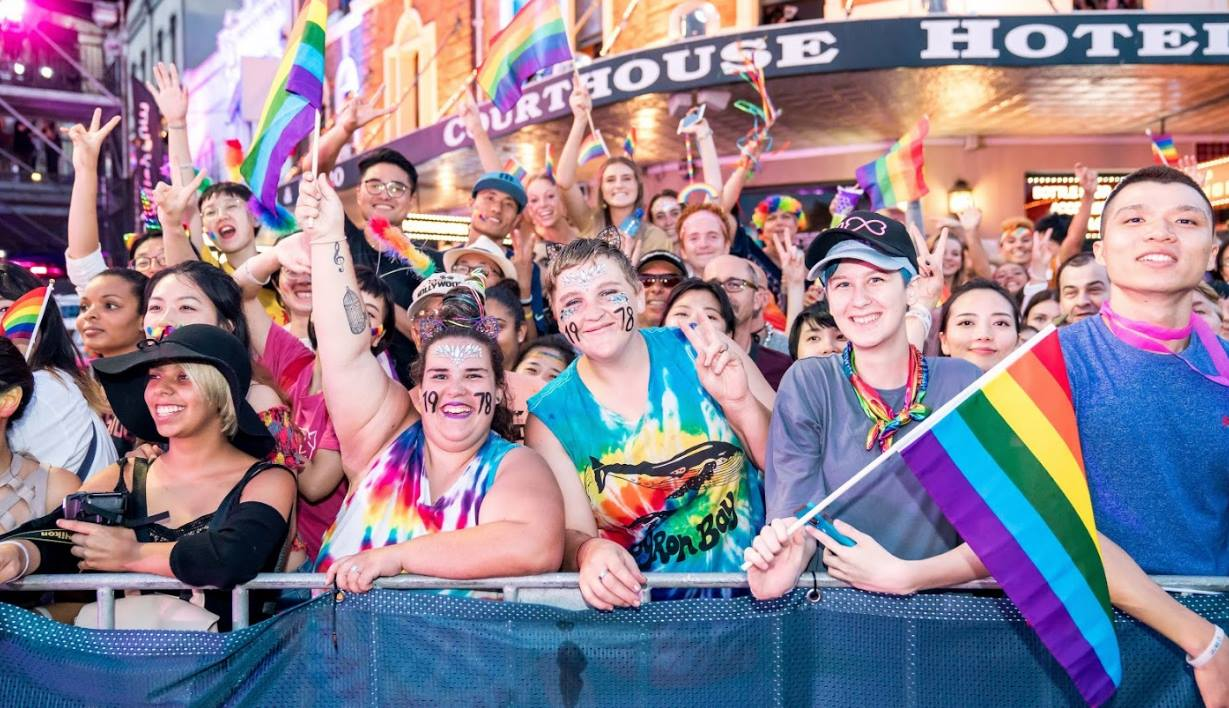 gay body shaming sydney mardi gras