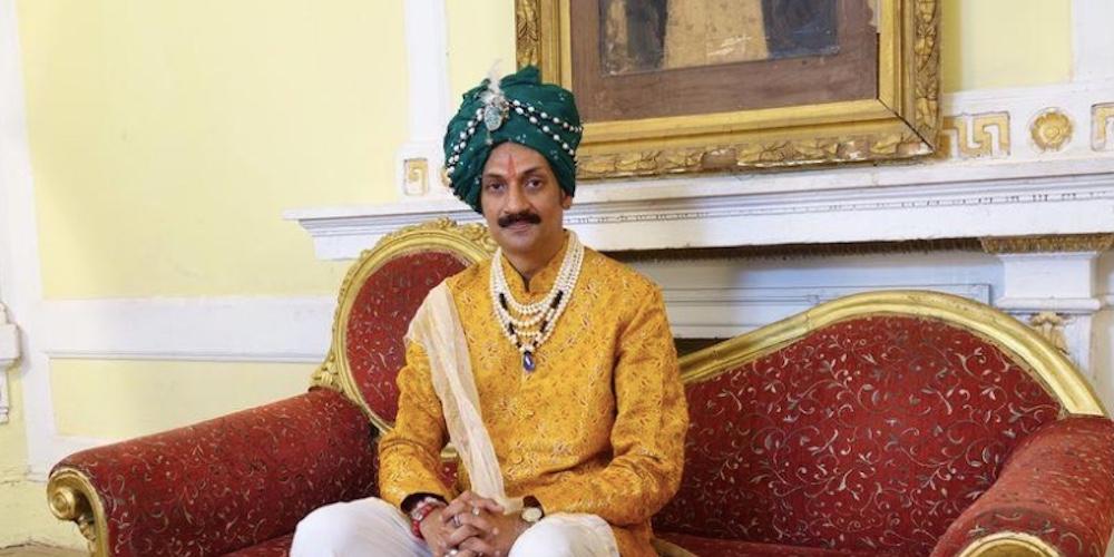 Prince Manvendra Singh Gohil