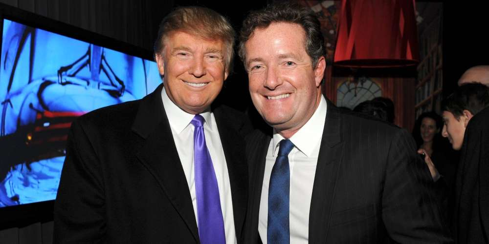 Piers Morgan's Kisser Is Firmly Lodged in Donald Trump's Ass, and This Illustration Proves It