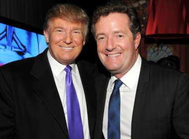 piers morgan donald trump idiot piers morgan