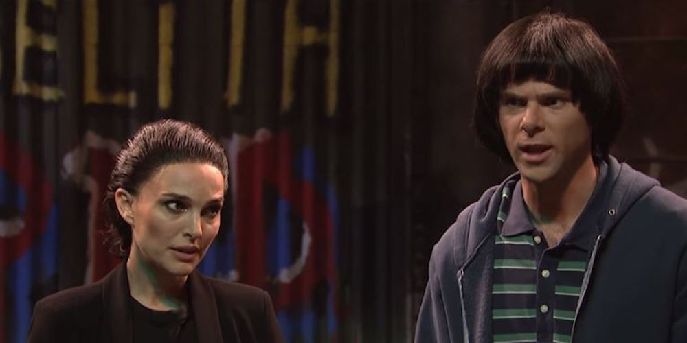 Watch This Hilarious 'Stranger Things' Sketch From Last Night's 'SNL' Starring Natalie Portman as Eleven
