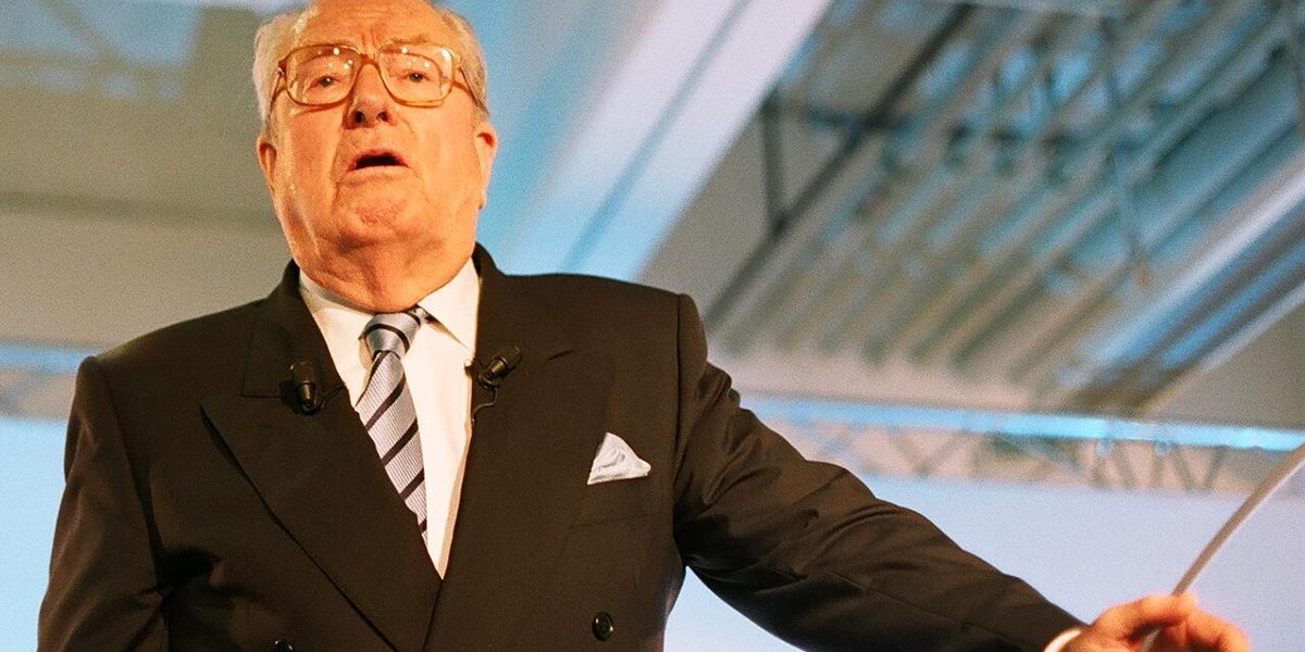 Jean-Marie Le Pen condamné pour ses propos homophobes