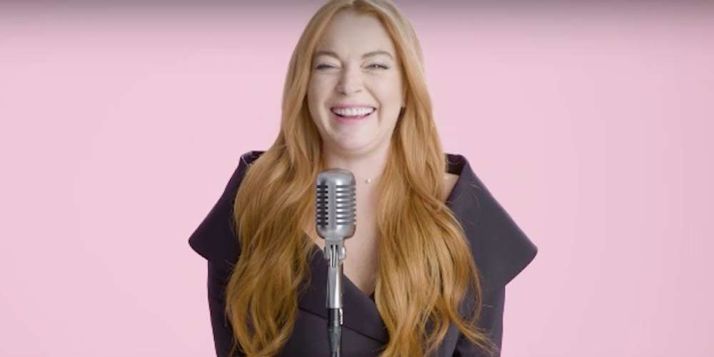 There's Something Slightly Off About Lindsay Lohan Reading Her Favorite Lines From 'Mean Girls'