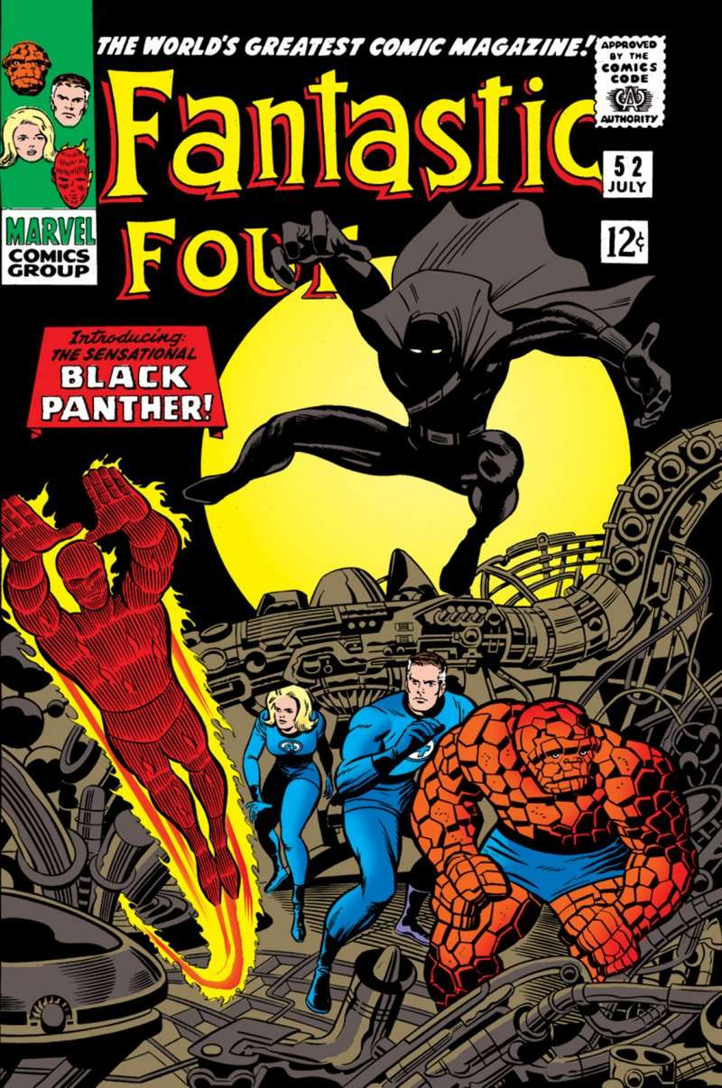 black panther first appearance