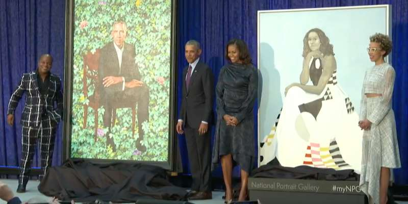 obama portrait kehinde wiley