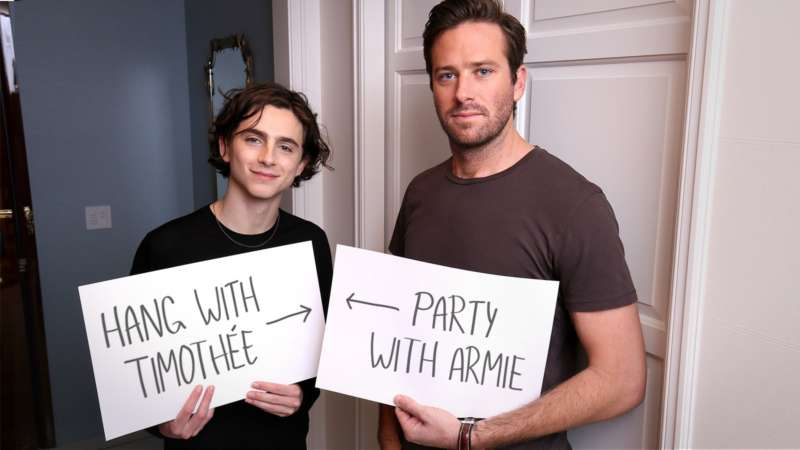 call me by your name contest hang party