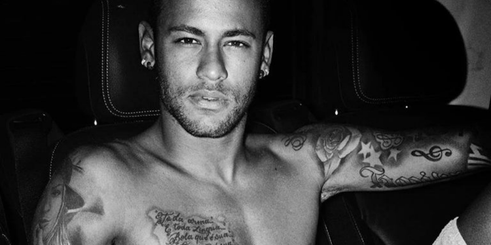 Sexy Brazilian Soccer Player Neymar Jr. Teases Fans With Naked Photoshoot