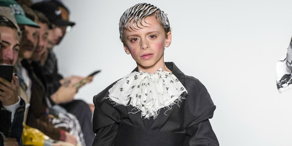 Garoto de 10 anos arrasa de drag nas passarelas da Semana da Moda de Nova York
