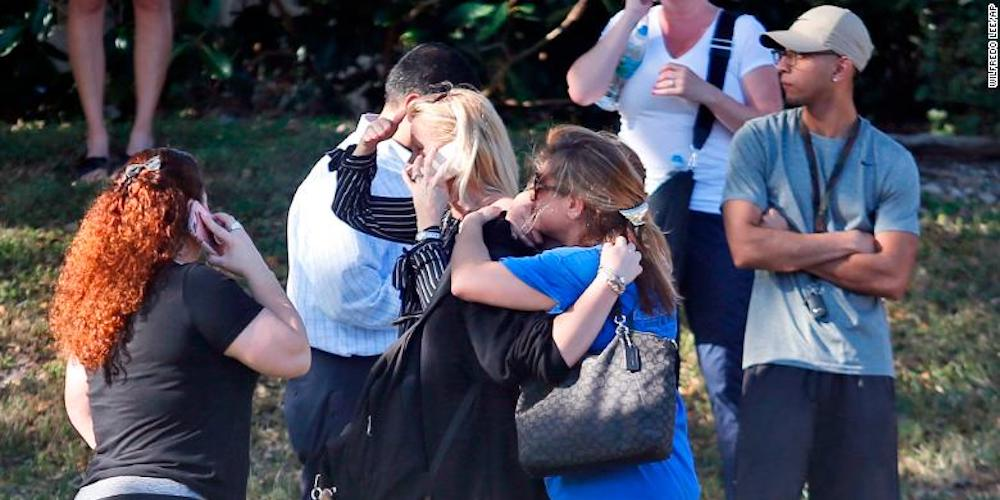 Celebrities, Journalists and Politicians Take to Twitter Following Today's Tragic Florida School Shooting