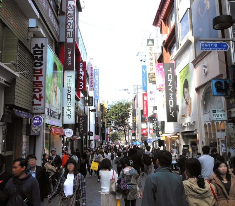 gay seoul guide myeong dong เกย์โซล