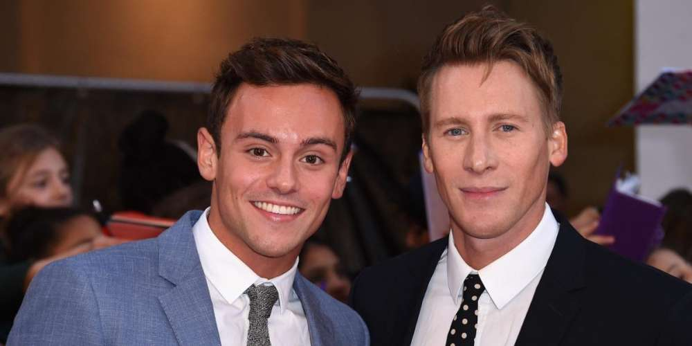Don't Be Dumb at Brunch: Dustin Lance Black and Tom Daley Gayby News, Scott Baio Is the Worst