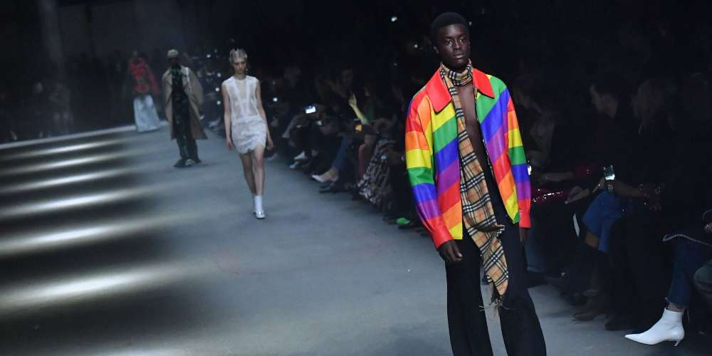Saturday's Burberry Runway Show in London Was an LGBTQ Game-Changer