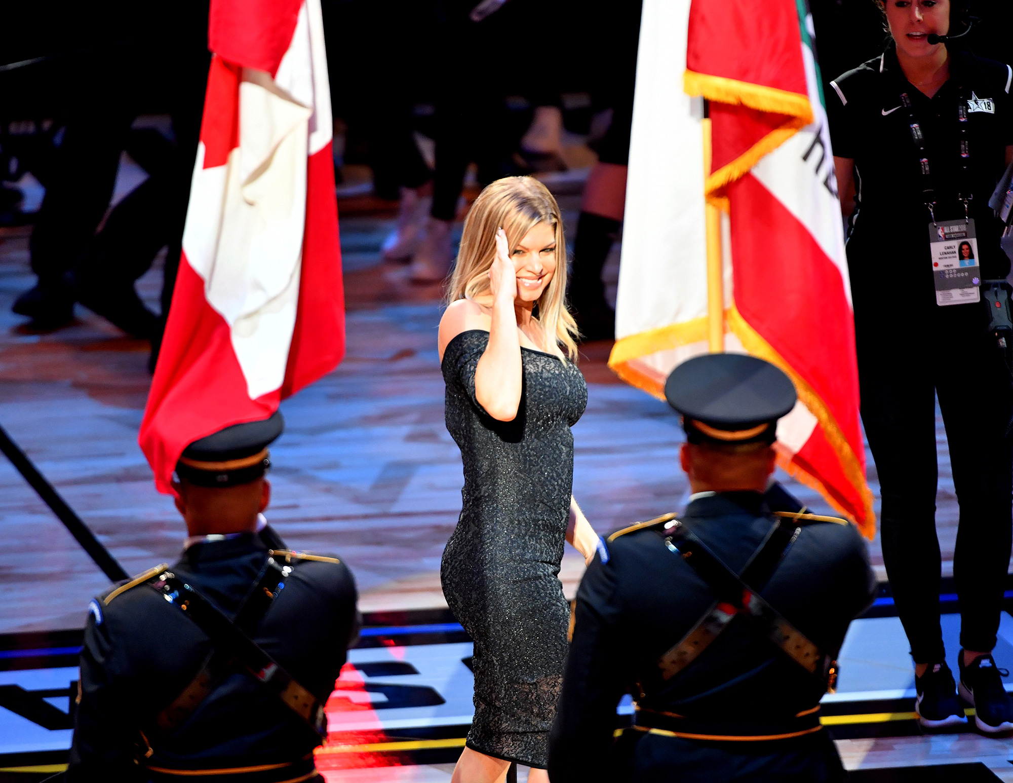 fergie national anthem 2