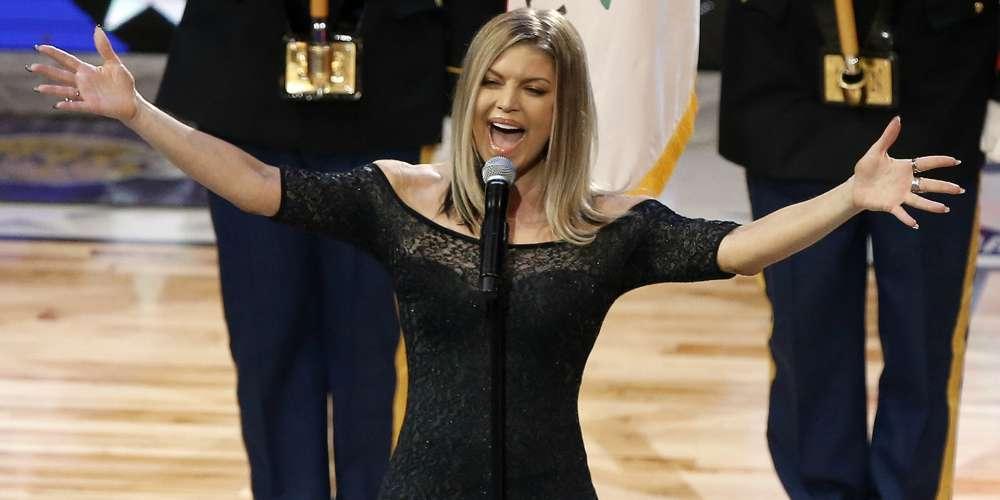 Fergie Apologizes for Cringeworthy National Anthem Performance: 'I Honestly Tried My Best'