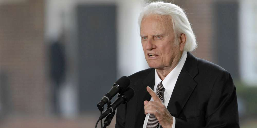 Let's Take a Moment to Remember Televangelist Billy Graham's Sad Homophobia